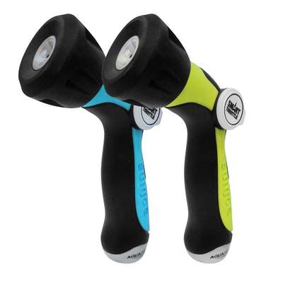 Aqua Joe One Touch Adjustable Hose Nozzle | Smart Throttle Control | 2-Pack $5.99