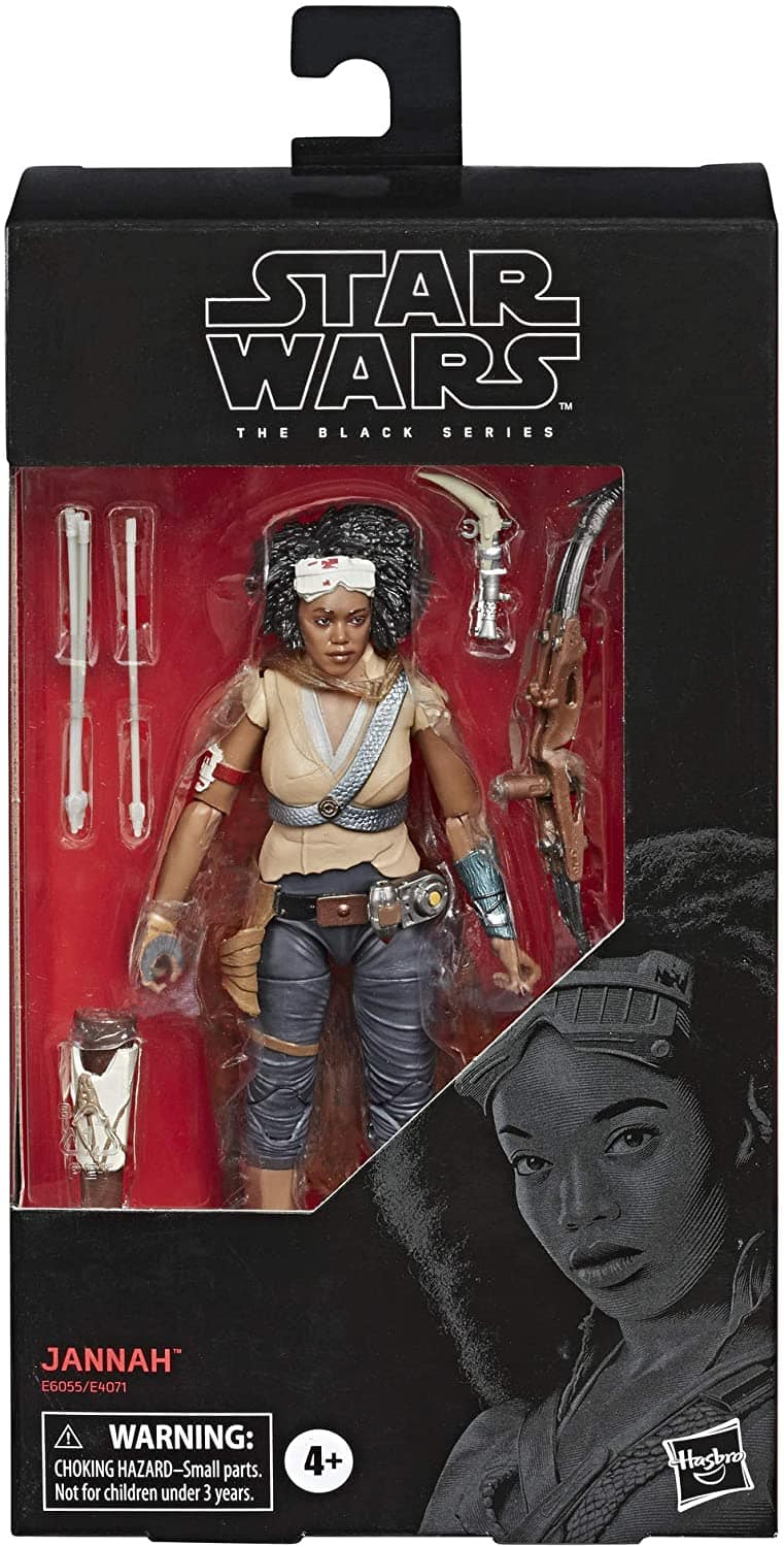 """Star Wars The Black Series Jannah Toy 6"""" Scale: The Rise of Skywalker Collectible Action Figure $5.97 @ Amazon"""
