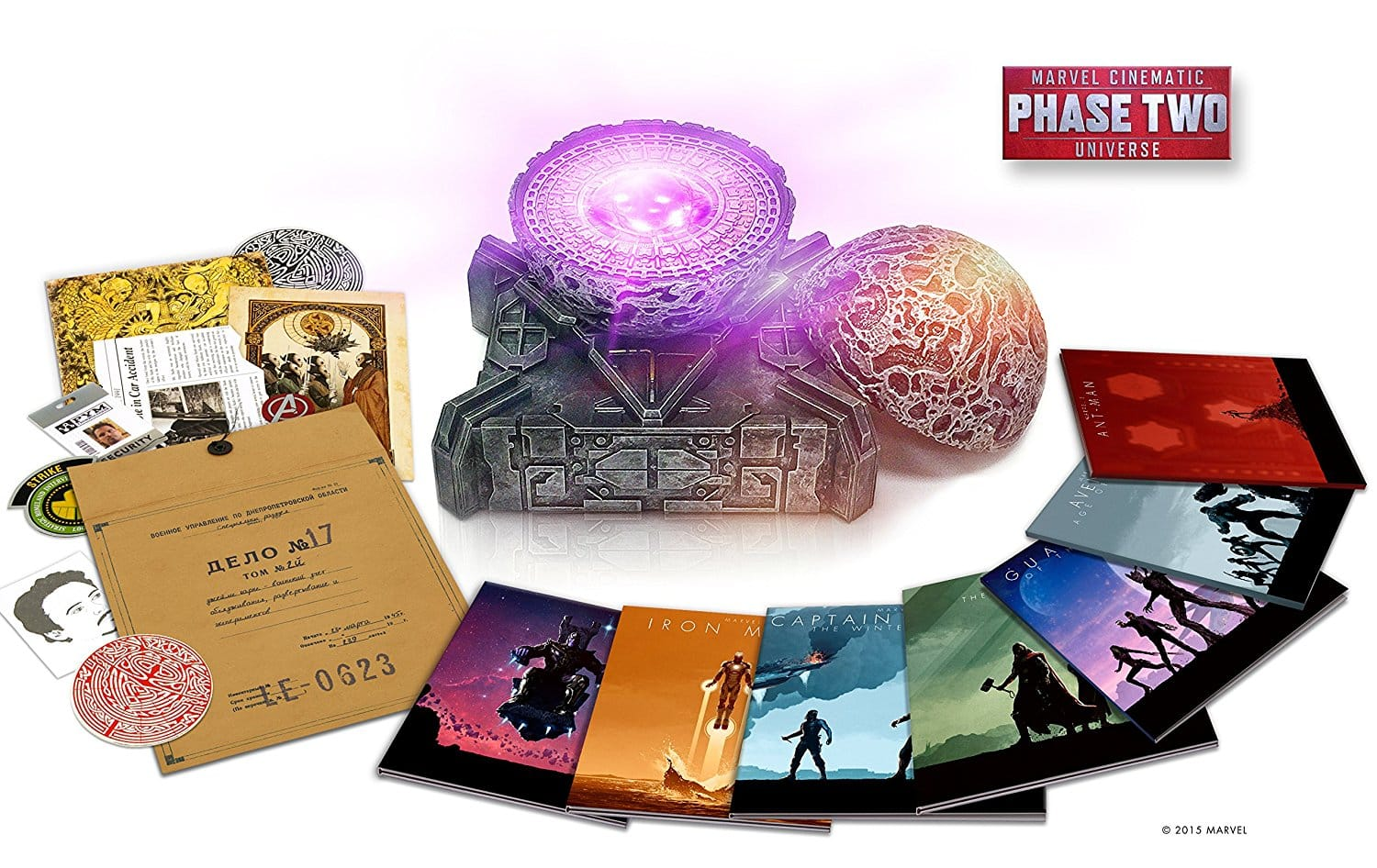 Marvel Cinematic Universe: Phase Two Collection [Blu-ray + 3D + Digital] $165