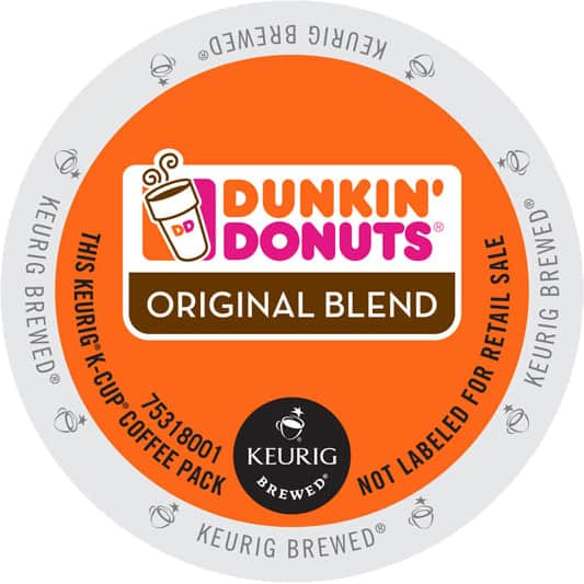 Staples has 220 Dunkin' Donuts Original Blend Coffee, Keurig® K-Cup® Pods, Medium Roast for $75.45 after coupon with $0.50 filler and free shipping