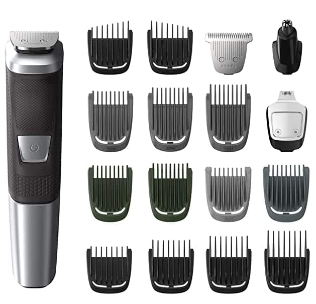 Philips Norelco MG5750/49 Multigroom All-In-One Trimmer Series 5000 With 18Piece $24.95