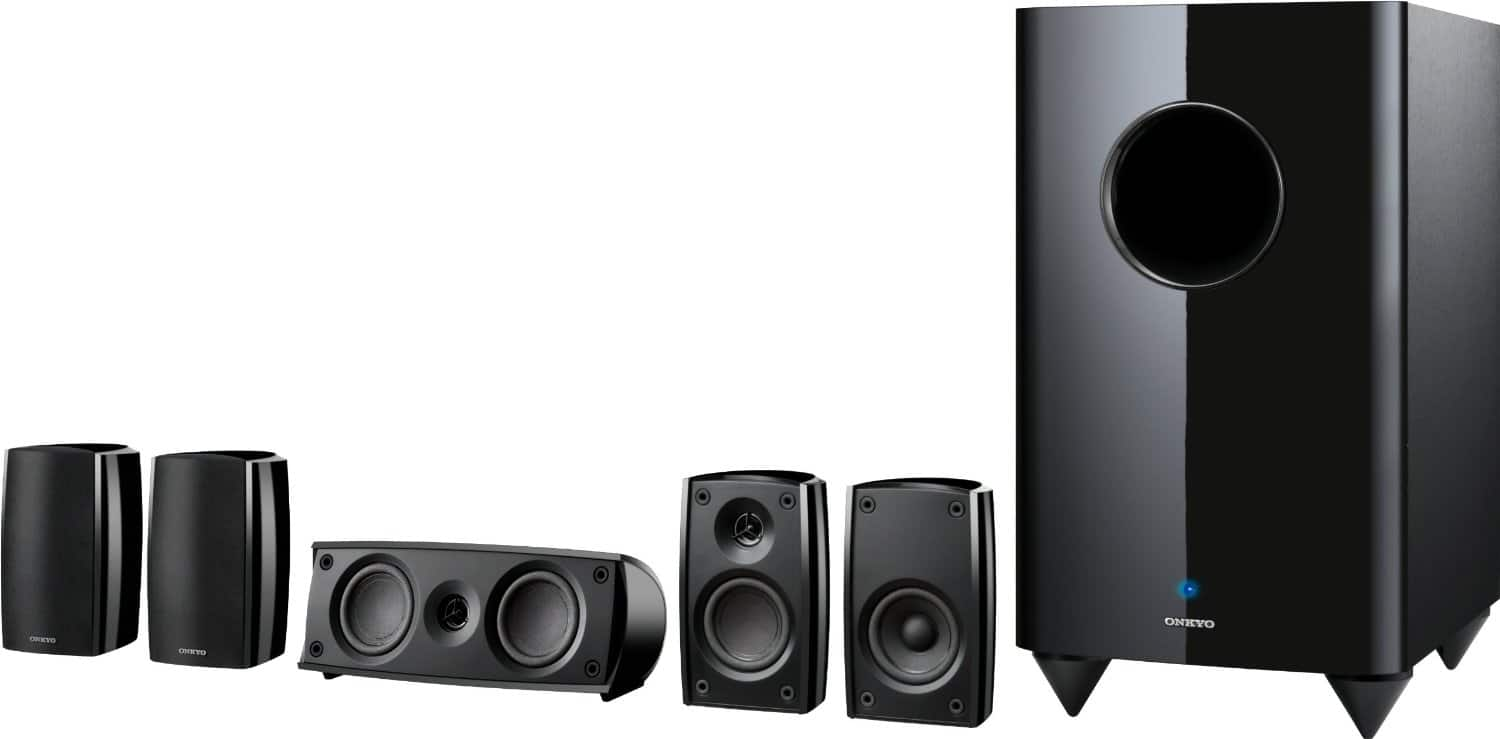 Onkyo SKS-HT690 5.1-Channel Home Theater Speaker System $229