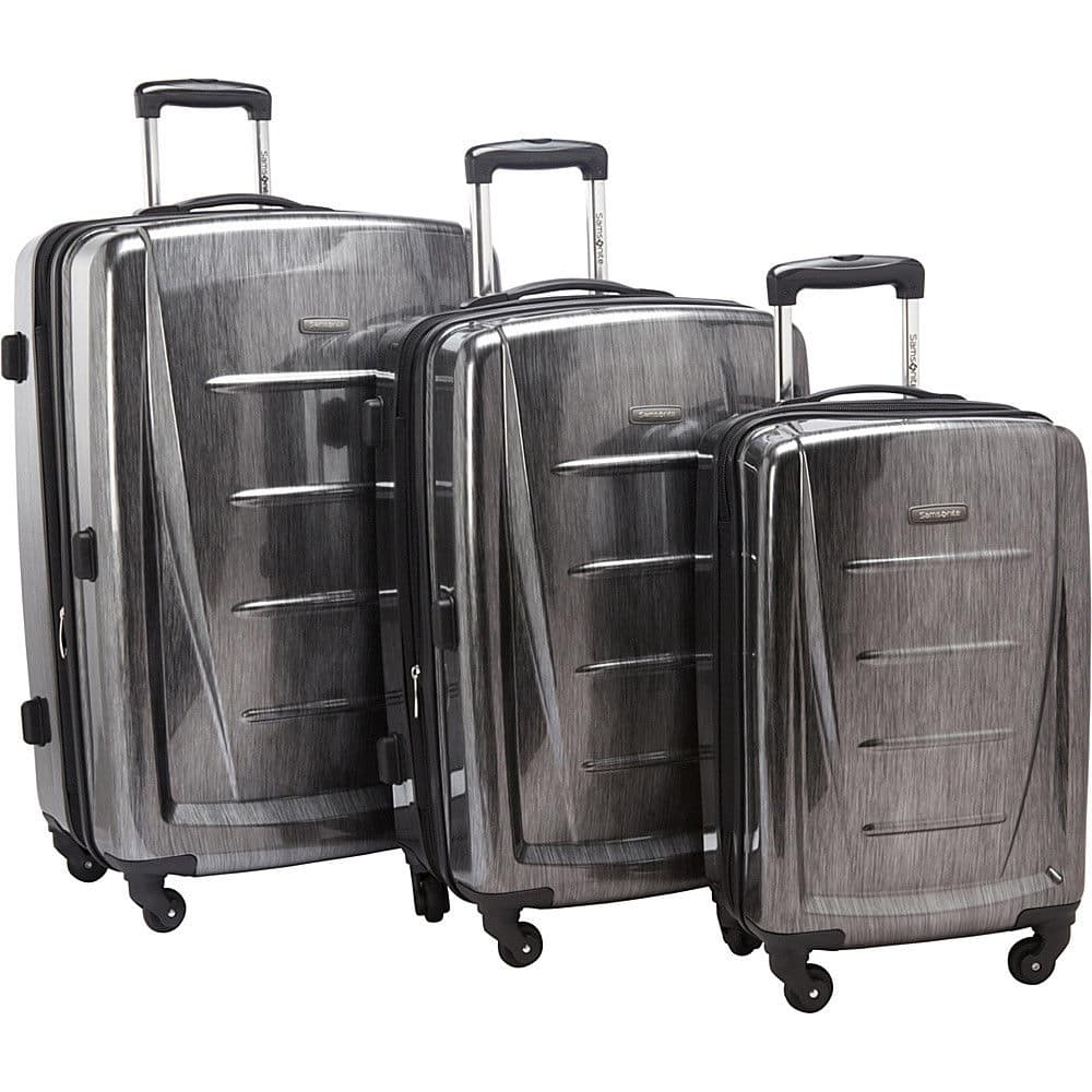 Samsonite Winfield 2 Fashion Hardside 3 Piece Spinner Luggage Set Only $160 after coupon