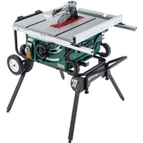 "Grizzly G0870 10"" 2 HP Portable Table Saw with Roller Stand - $445 + $99 S/H = $544"