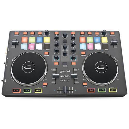 Gemini Slate 4-channel DJ Controller w/ Serato DJ Bundle - $142.18 FS