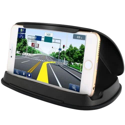 Cell Phone Holder for Car, Dashboard GPS Holder Mounting in Vehicle for Cell Phone $7.99