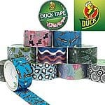 Duck Tape  - various styles - $1.50 a roll