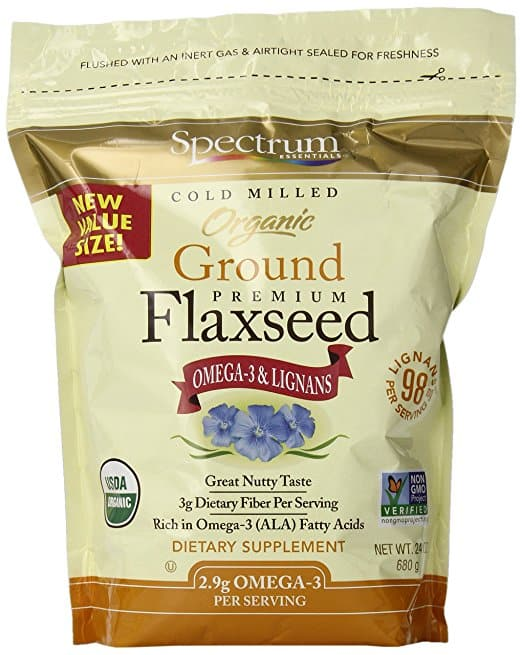 Spectrum Essentials Organic Ground Flaxseed, 24 oz @ Amazon FS with SS $5.84