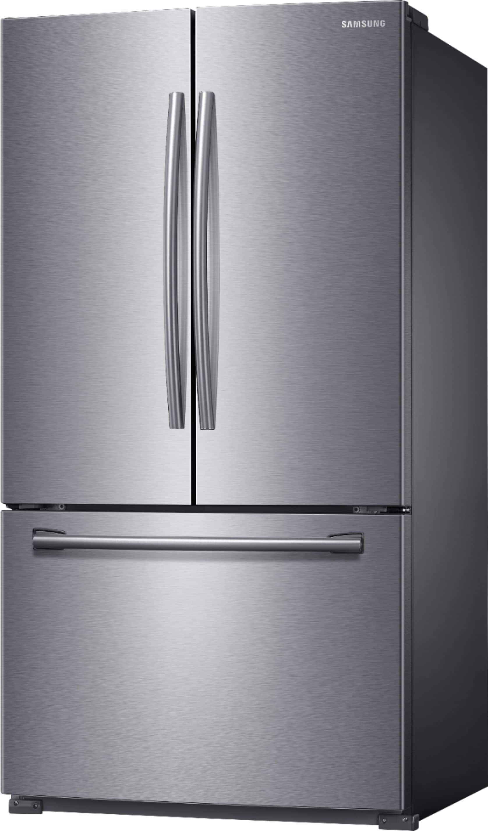 Samsung - 25.5 Cu. Ft. French Door Refrigerator with Filtered Ice Maker - Stainless steel $1098