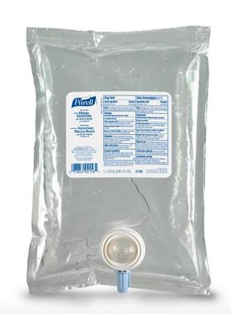 PURELL NXT Advanced Hand Sanitizer Gel, 1000 mL Hand Sanitizer Gel Refill for PURELL NXT Push-Style SPACE SAVER Dispenser $10.78 + FS for Plus Members