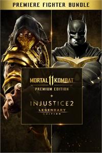 Xbox: Mortal Kombat 11 PE + Injustice 2 LE - Premier Fighter $39.59