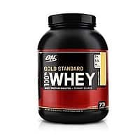GNC Deal: Optimum Nutrition Gold Standard 100% Whey Protein Powder- two 5lb (10 lbs total) for $85