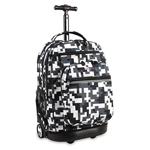 J World New York Sundance LAPTOP Rolling Backpack for Schooling & Travel, 20 inch $29.23