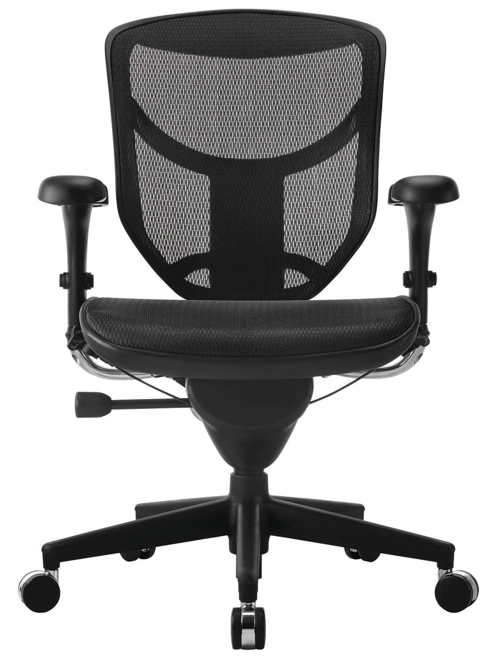 WorkPro® Quantum 9000 Series Ergonomic Mid-Back Mesh/Mesh Chair, Black $299.99