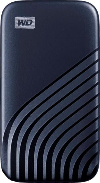 WD - My Passport 1TB External USB Type-C Portable Solid State Drive - Blue @BestBuy $130
