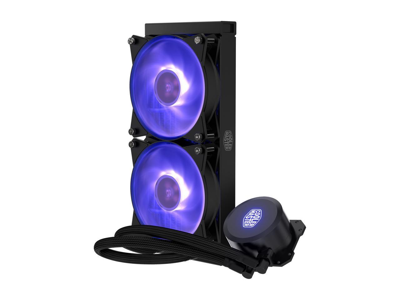 Cooler Master MasterLiquid ML240L RGB AIO Liquid Cooler @Newegg (AR) $42