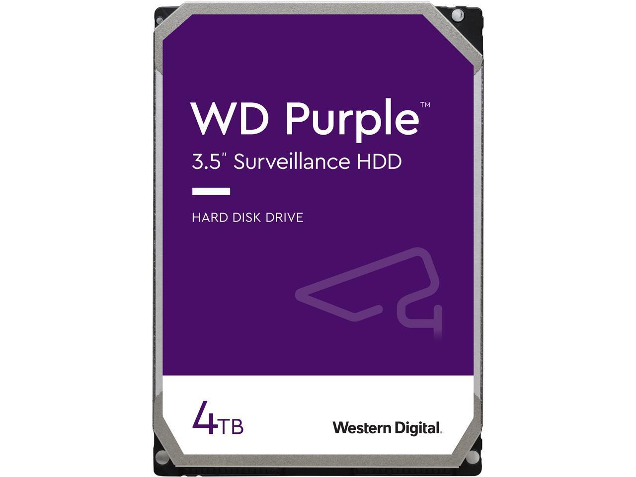 "4TB WD Purple 3.5"" Surveillance Hard Drive @Newegg $85"