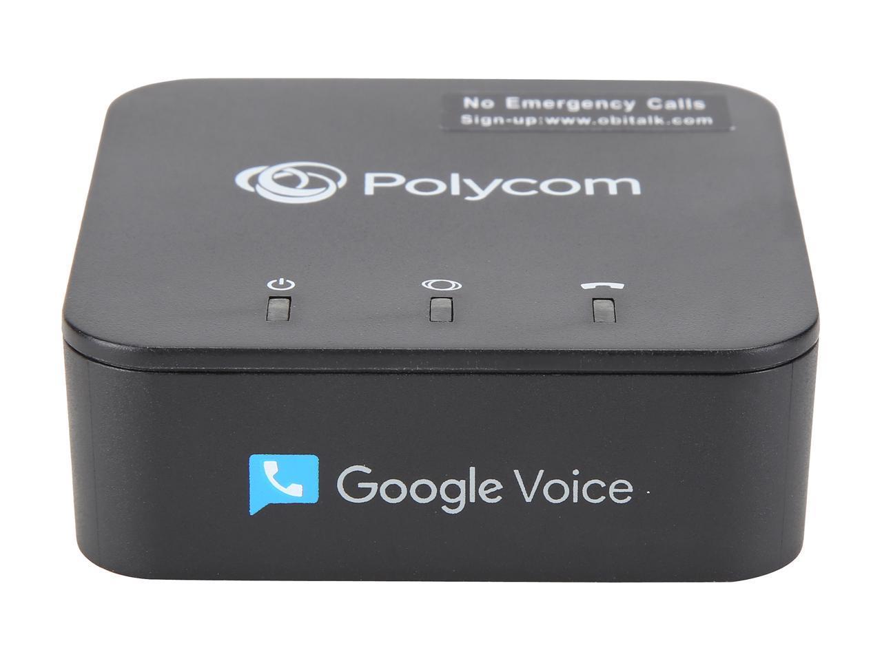 Polycom OBi200 VoIP Telephone Adapter @Newegg $40