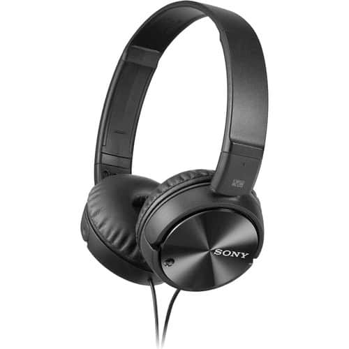 Sony MDRZX110NC Noise Cancelling Headphones @B&H $28