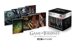 Game of Thrones: The Complete Series [SteelBook] [Digital Copy] [4K Ultra HD Blu-ray] @BestBuy (pickup) $140