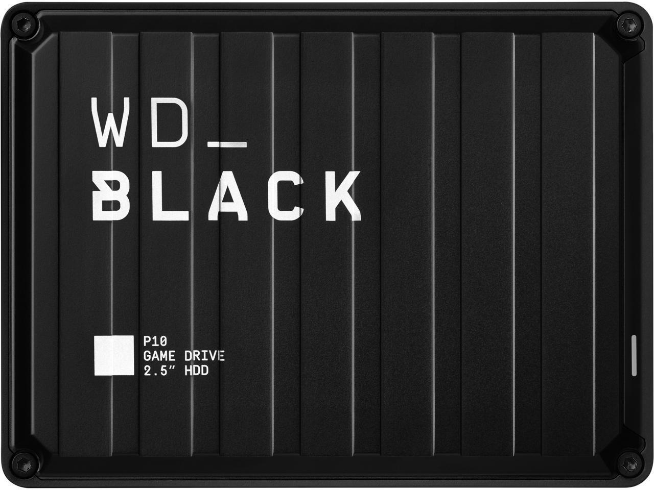 5TB WD Black P10 Game Drive Portable Hard Drive @Newegg $96