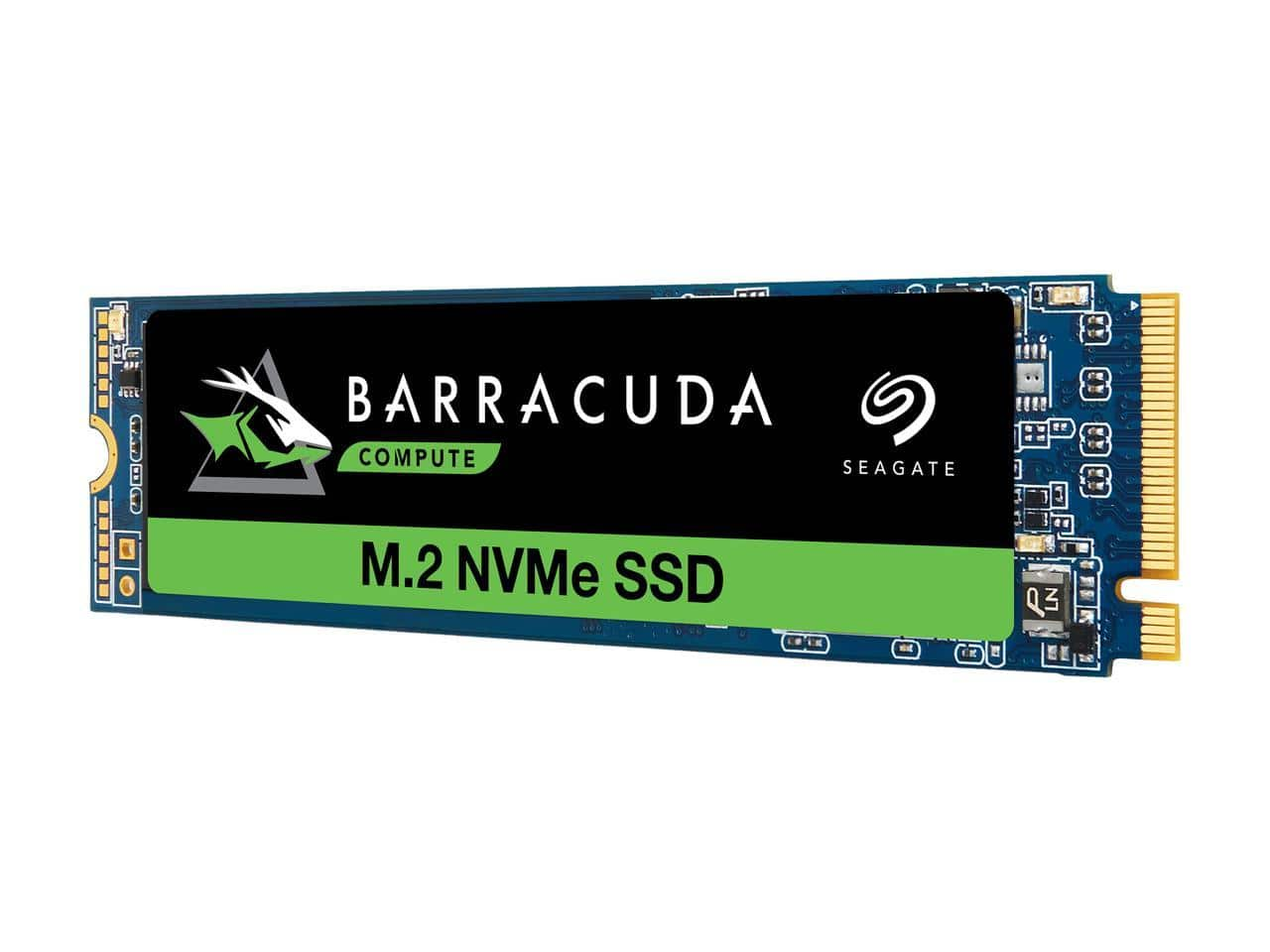 1TB Seagate BarraCuda 510 M.2 2280 NVMe 3D TLC Solid State Drive @Newegg $100