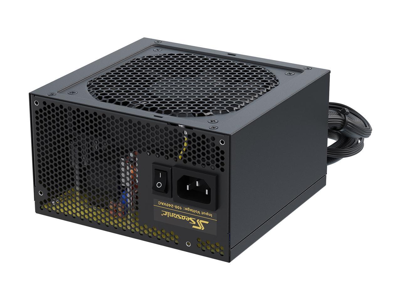 Seasonic Core GM-500 500W 80+ Gold Semi Modular Power Supply @Newegg (no rebate) $59.49