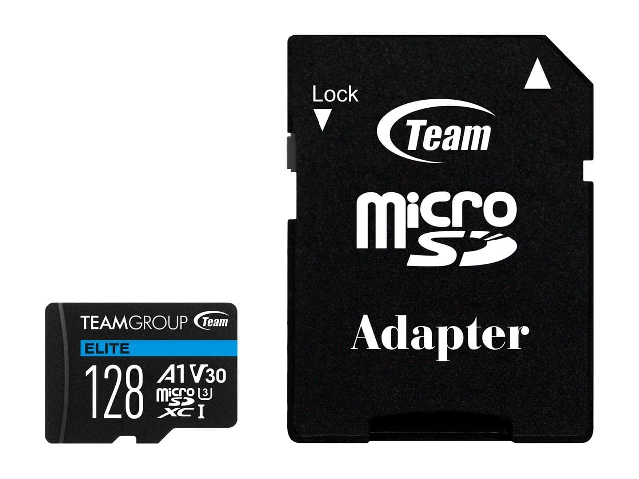 128GB Team Elite U3 A1 V30 microSDXC Card w/ Adapter @Newegg $11.19