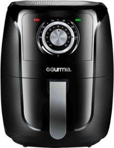 Gourmia - 5qt Analog Air Fryer - Black @BestBuy $35