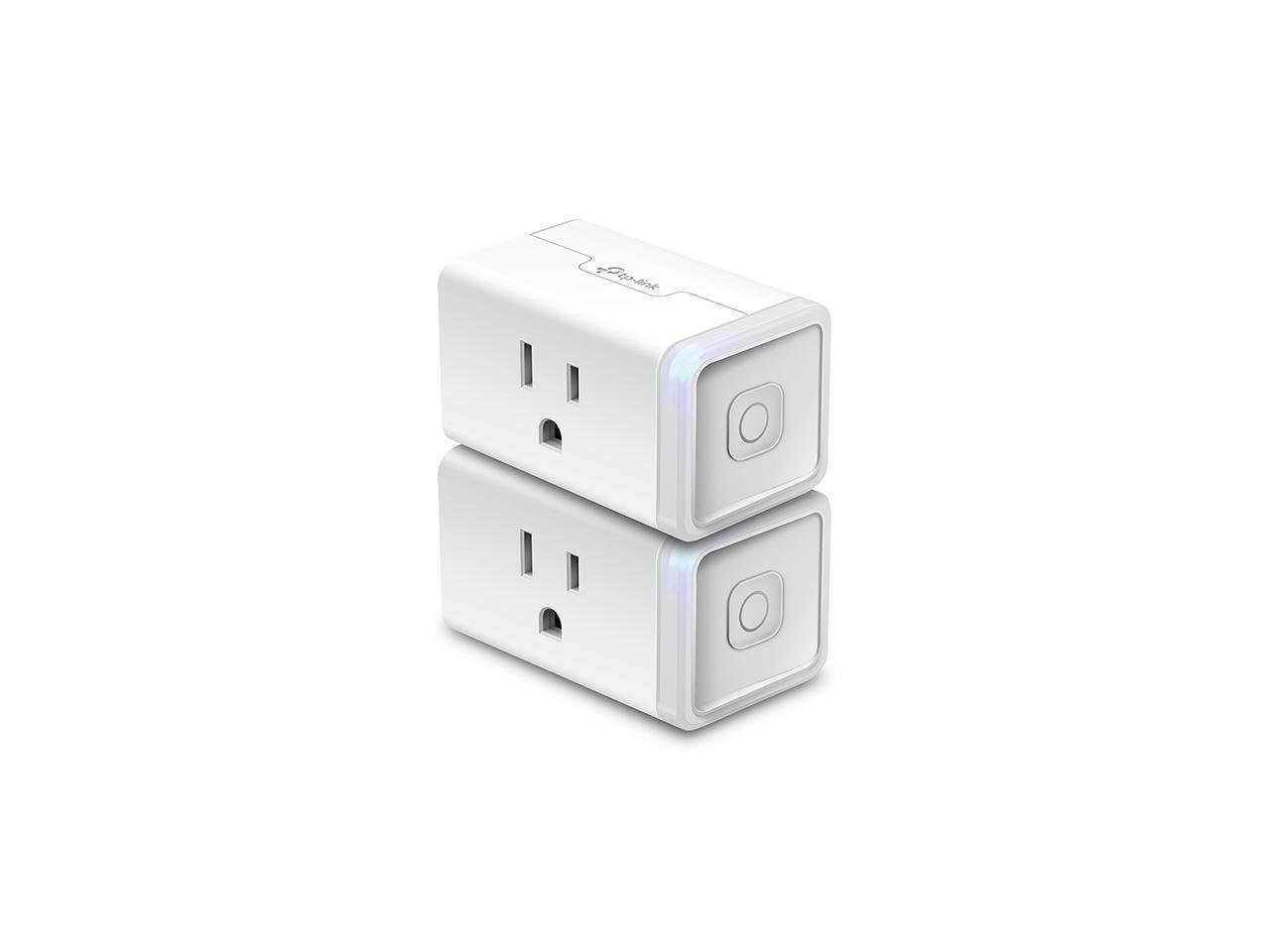 TP-Link Accessory KP100 Kasa Smart Wi-Fi Plug KIT  - Slim Edition 2-Pack @Newegg $18