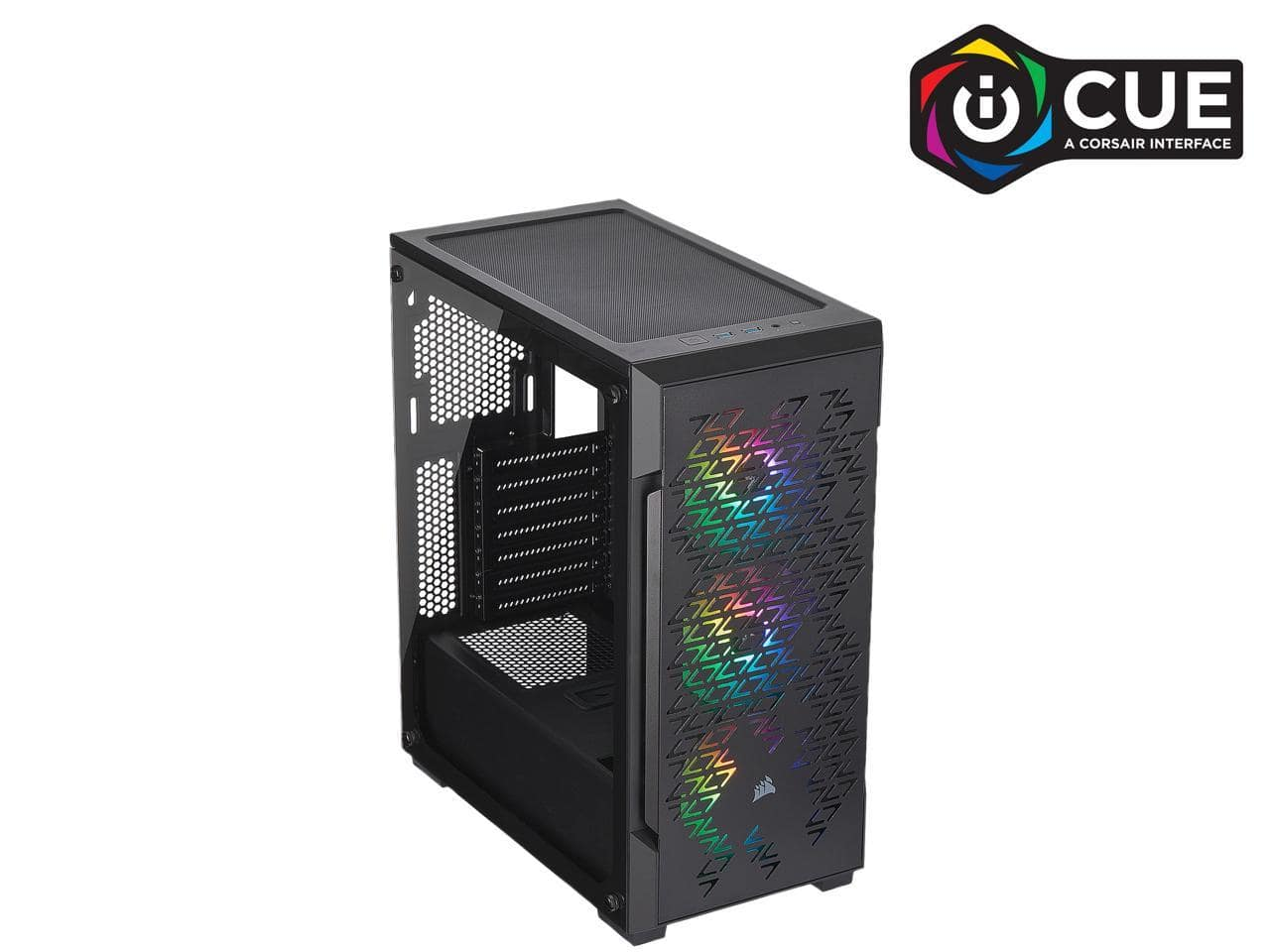 Corsair iCue 220T RGB Airflow Mid Tower Computer Case @Newegg $80