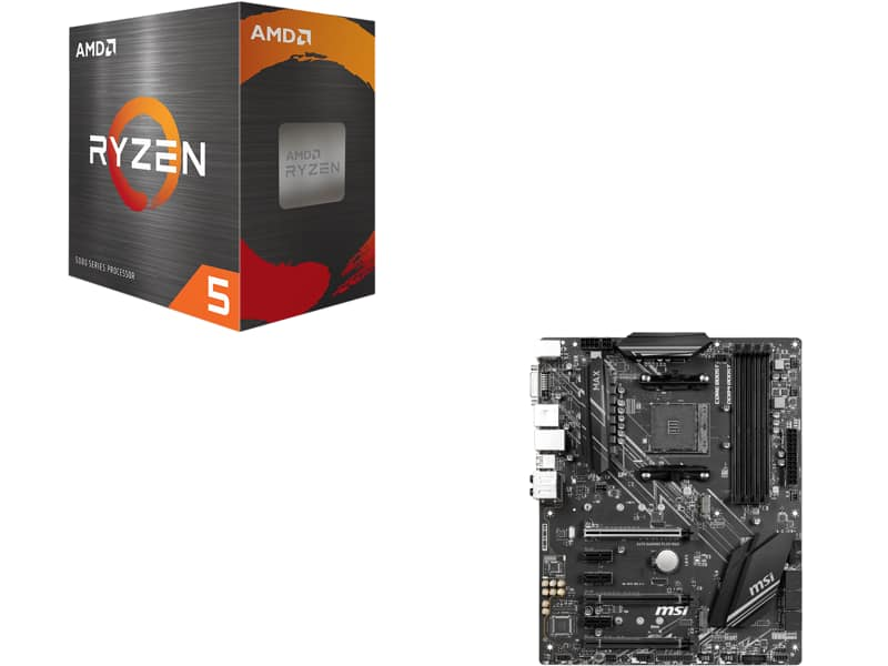 AMD Ryzen 5 5600X Processor + MSI X470 Gaming Plus Motherboard @Newegg $350