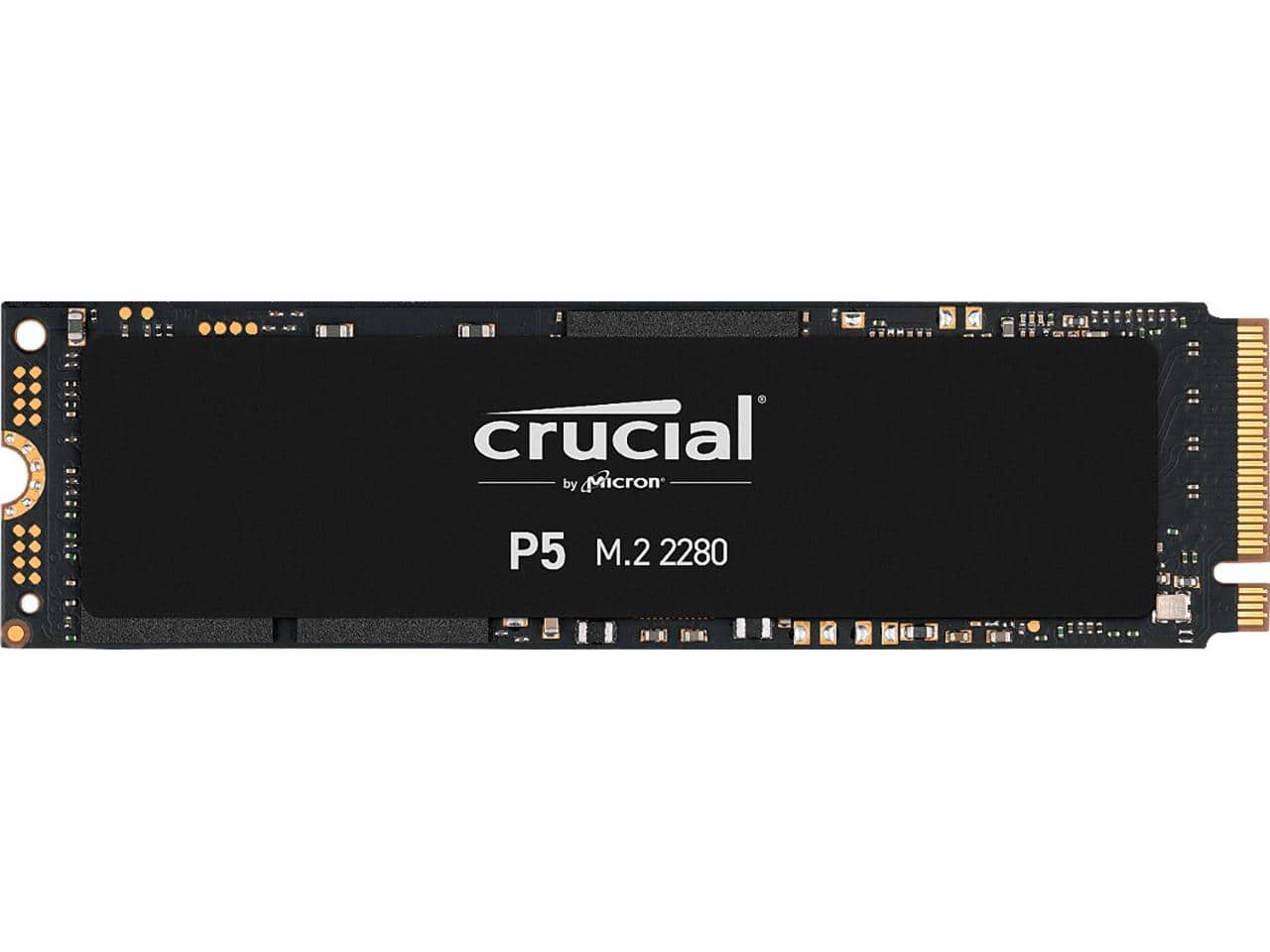 1TB Crucial P5 NVMe SSD $102 @Newegg; 1TB P2 / $89;  500GB P2 / $46AC;  500GB Samsung 980 / $55AC; 500GB T7 / $60AC and more