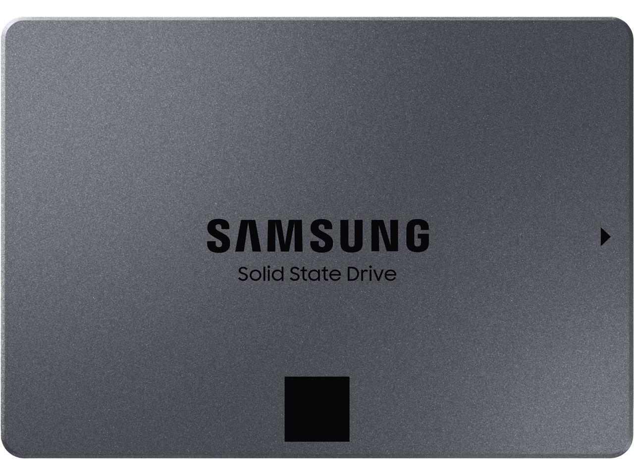 "2TB Samsung 870 QVO 2.5"" SSD $162;@Newegg  4TB / $306;  8TB / $595"