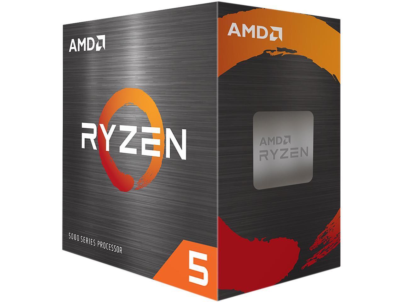 AMD Ryzen 5 5600X 3.7GHz 6-Core AM4 Processor $270 at Newegg