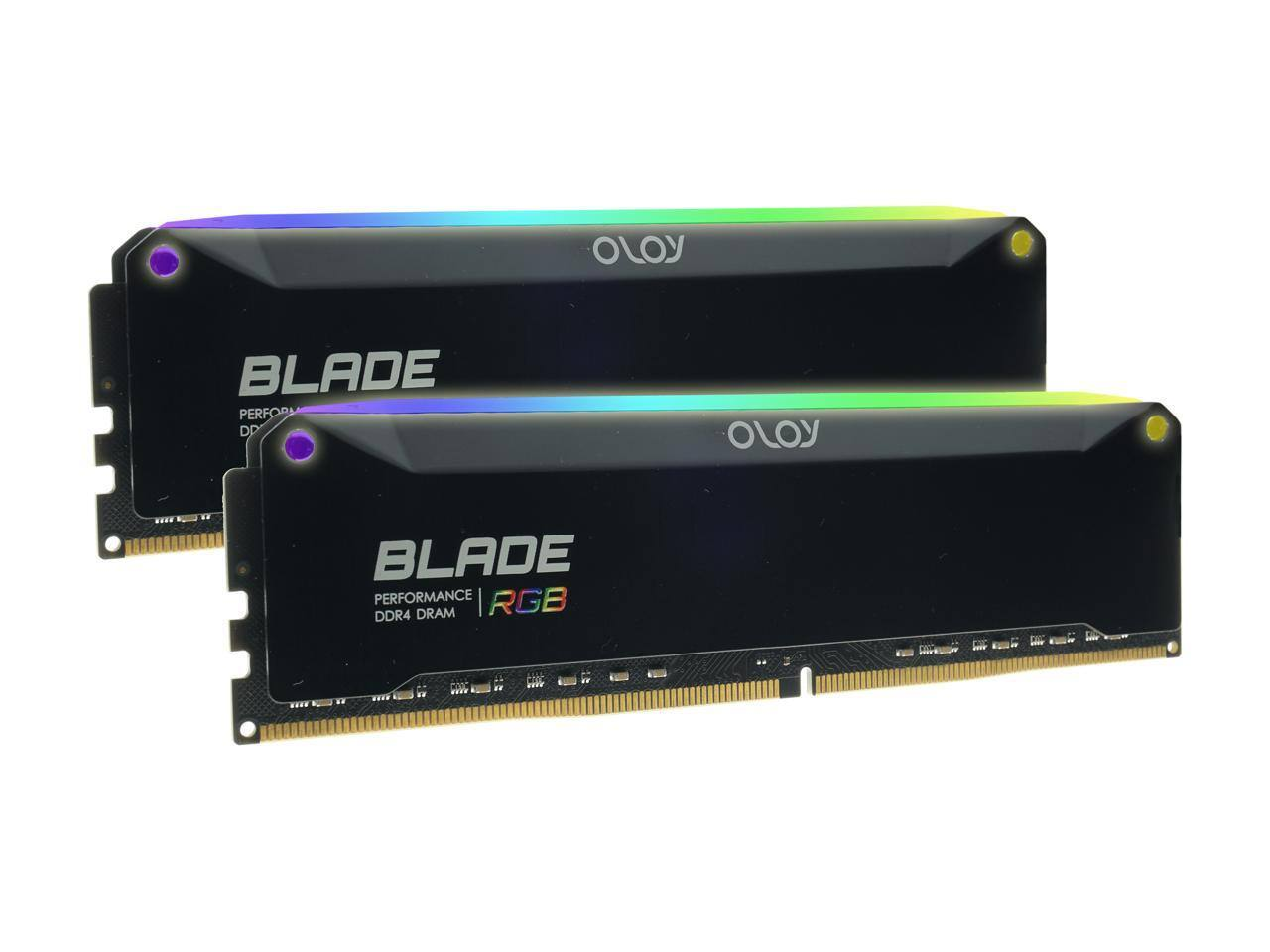 32GB (2x 16) OLOy Blade RGB DDR4 3200 Desktop RAM kit @Newegg $140