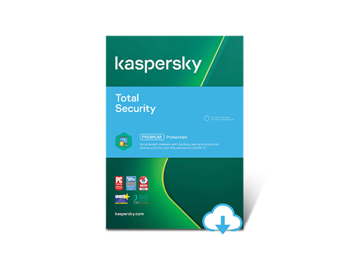 Kaspersky Total Security 2021 1 Year / 5 Devices - Download $20