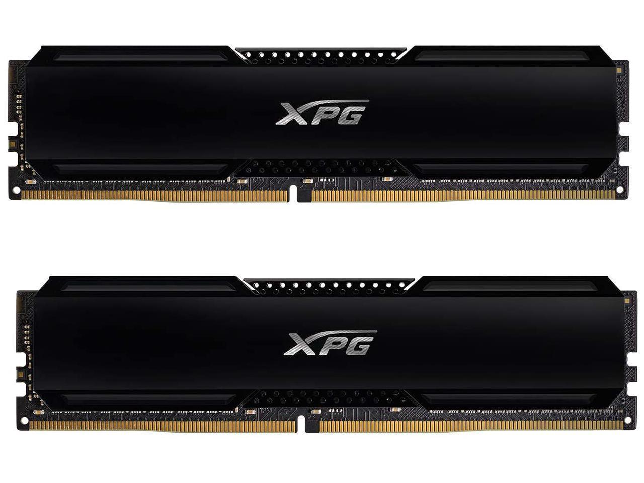 32GB (2x 16) AData XPG GAMMIX D20 DDR4 3200 Desktop RAM kit + $20GC @Newegg $120