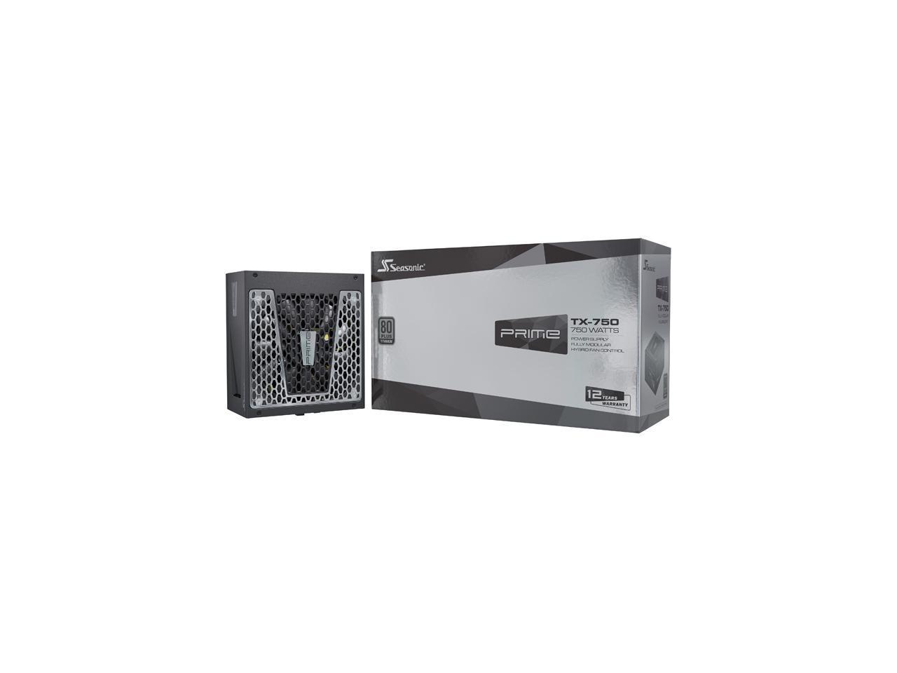 750W Seasonic PRIME TX-750, 80+ Titanium, Full Modular Power Supply @Newegg (AR) $148