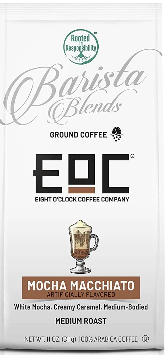 11-Oz Eight O'Clock Coffee Barista Blends Ground Coffee (Mocha Macchiato) @Amazon (S&S/AC) $4.18