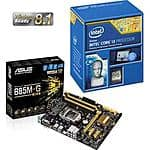 Intel i3-4170 Retail Processor + Asus B85M-G R2.0 Motherboard bundle $139@Frys