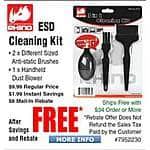 Rhino ESD Cleaning Kit Free after $8 Rebate @Frys