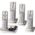 Panasonic KX-TGD224N 4 Handset DECT 6.0 Cordless Phone w/Answering Machine $60@Frys (w/emailed code)