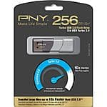 256GB PNY Turbo Flash USB 3.0 Flash Drive $71 @Frys (w/emailed code)