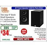 JBL Loft 30 Loft-30AM Bookshelf Speakers $34/pr @Frys (w/emailed code)