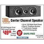 """JBL Loft 20 Subwoofer $50 @Frys KLIPSCH K-100SW 10"""" Front-Firing 300w Peak Power Subwoofer $149 AC (Promo Code) Loft-30AM Bookshelf Speakers $34/pr w/code"""