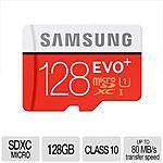 128GB Samsung EVO+ MicroSDXC Memory Card $60AR @TigerDirect