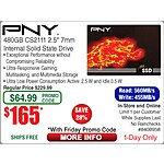 PNY XLR8 CS2111 480GB SSD $165 (w/emailed code) @Frys 9/25
