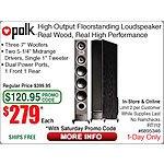 "Polk Audio RTi12 5.25"" Floorstanding Speaker - Black $279ea @Frys (w/emailed code) 9/26 Cyberpower 1325VA UPS $109 Logitech MK270 Desktop Combo $15"