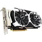 MSI GeForce GTX 960 2GD5T OC 2GB Video Card $160AR@Newgg